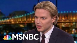 Farrow Recounts Struggles At NBC News Over Weinstein Reporting | Rachel Maddow | MSNBC 3