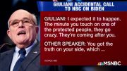 Rudy Giuliani's Butt Dial Heard Around the World - The Day That Was | MSNBC 4