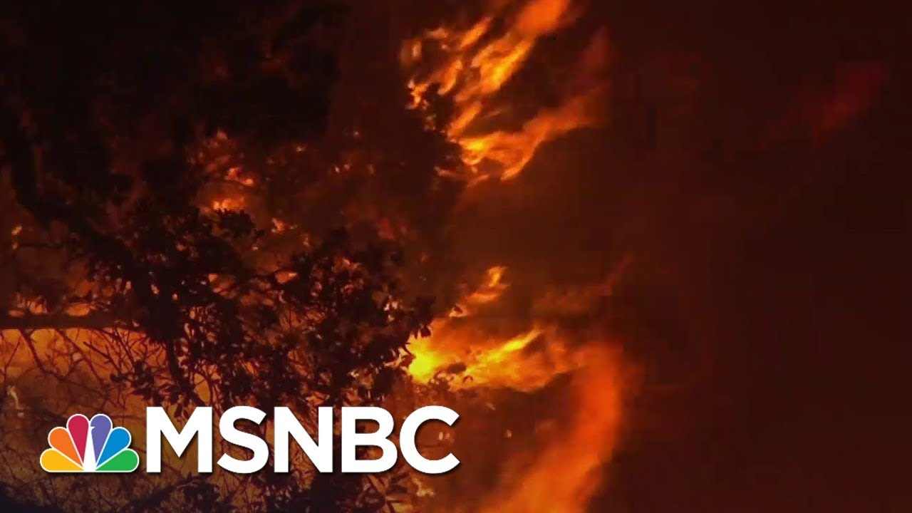 California Governor Declares Statewide Emergency Due To Wildfires | MSNBC 2