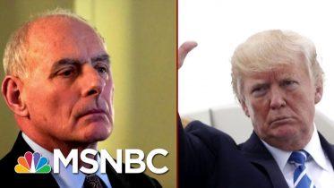 "Republican Senator Describes Defending Trump From Impeachment As A ""Horror Movie"" | Deadline | MSNBC 1"