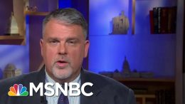 Details From Counter Terrorism Operations 'Don't Need To Be Revealed' | MTP Daily | MSNBC 3