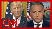 Jake Tapper: Trump refused to answer this question 3