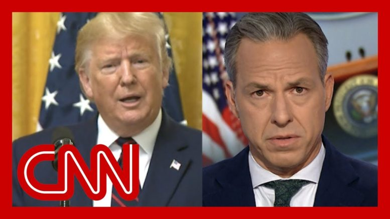 Jake Tapper: Trump refused to answer this question 1