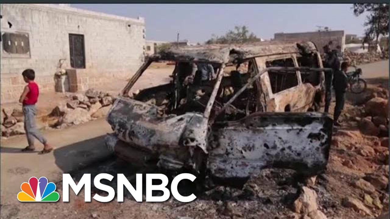 Trump Baghdadi Blurting Hurts US Operations And National Security | Rachel Maddow | MSNBC 7