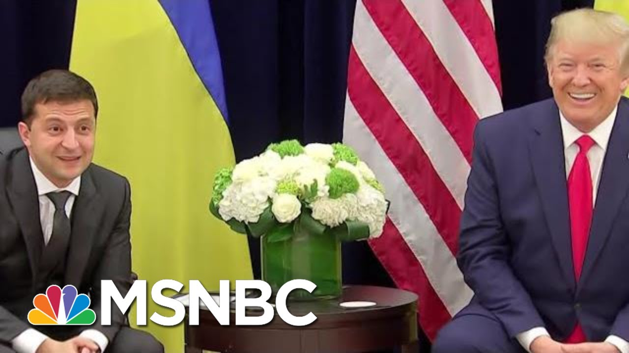 Top WH Ukraine Expert To Testify In Impeachment Inquiry | Morning Joe | MSNBC 1