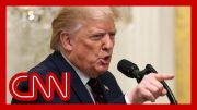 Trump erupts at reporter over key question in impeachment inquiry 4
