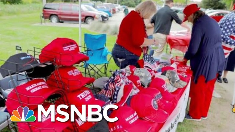 The Math To The Madness Of President Donald Trump Merchandise | Velshi & Ruhle | MSNBC 1