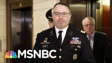 'This Guy's A Hero': Biden Praises Alexander Vindman For Testifying | Andrea Mitchell | MSNBC 6
