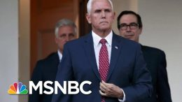 Pence Has No Objection To Releasing Transcript Of His Call With Ukraine President | Deadline | MSNBC 1