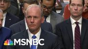 Lawmakers Grill Boeing CEO On 737 MAX Crashes | MTP Daily | MSNBC 4