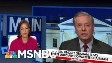 Trump Ally Lindsey Graham Responds To Obama Aide Dubbing Him A 'Piece Of Sh**' | MSNBC 6