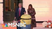 A Different Kind Of 'Boo' Is Scaring President Donald Trump This Halloween | All In | MSNBC 2