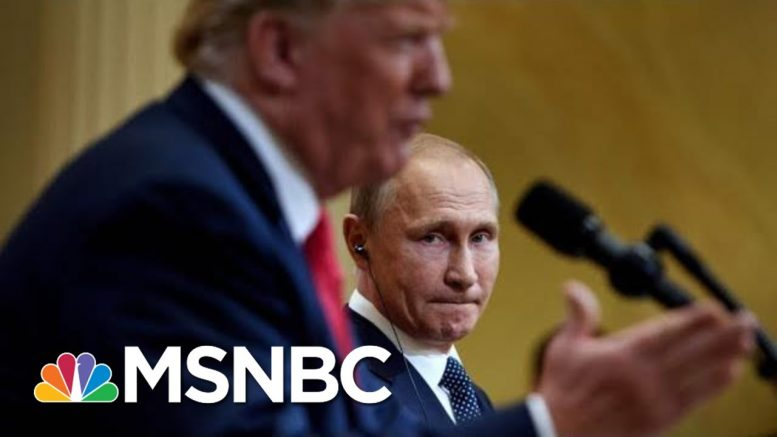 Why Trump's Attacks On The Impeachment Inquiry Are Good For Putin | The 11th Hour | MSNBC 1