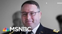 Vindman Testimony Contradicts Trump's Claim UA Call Transcript Was Exact | The 11th Hour | MSNBC 8