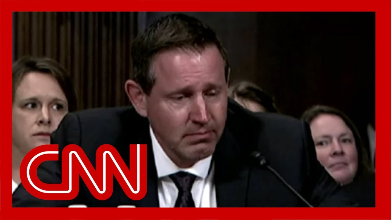 Trump judicial nominee breaks down in tears at hearing 1