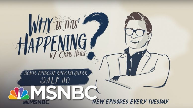 BONUS: The Census Decision with Dale Ho   Why Is This Happening? - Ep 40   MSNBC 1
