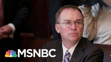 Mick Mulvaney Left In The Dark About Al-Baghdadi Raid   Velshi & Ruhle   MSNBC 6