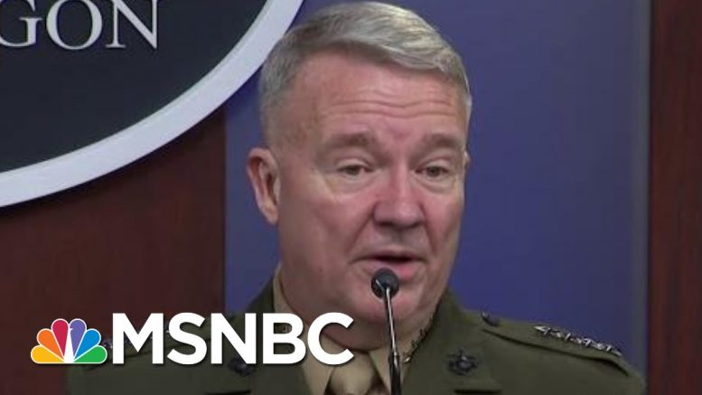 Full Briefing: Pentagon Says Al-Baghdadi Was Buried At Sea After Raid | MTP Daily | MSNBC 1