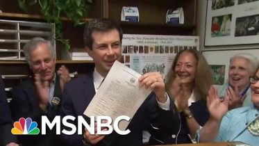 Pete Buttigieg Officially Files To Appear On New Hampshire Primary Ballot | Craig Melvin | MSNBC 10