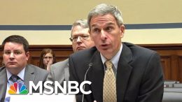 Cuccinelli Open About Trump Admin Cruelty To Ill Immigrant Kids | Rachel Maddow | MSNBC 4