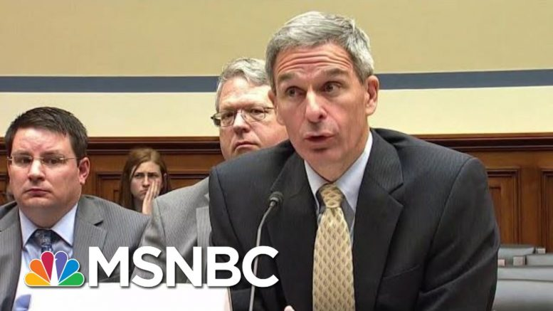 Cuccinelli Open About Trump Admin Cruelty To Ill Immigrant Kids | Rachel Maddow | MSNBC 1