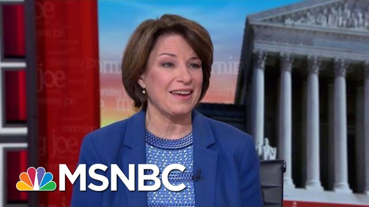 Amy Klobuchar: Facebook Should Have A Truth Standard For Political Advertising   Morning Joe   MSNBC 1