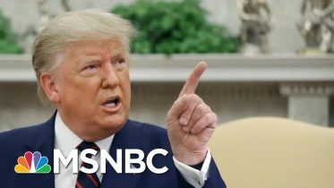 President Donald Trump: The Whistleblower Should Be Protected If They Are 'Legitimate' | MSNBC 10