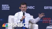 Mayor Pete Buttigieg On The Shifting Power In The Gun Debate | Craig Melvin | MSNBC 4