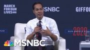 "Julián Castro: ""We Shouldn't Use Mental Health As An Excuse"" For Gun Violence 