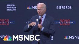 Biden Answers Question From Giffords, About Children In The School Shootings | Craig Melvin | MSNBC 9