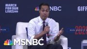 Julián Castro: 'Teachers Should Be Teaching, Not Serving As A Security Guard' | Craig Melvin | MSNBC 3