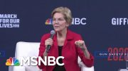 Warren: We Need To Treat Gun Control 'Like The Public Health Emergency It Is' | Craig Melvin | MSNBC 5