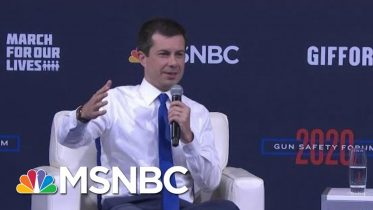 Mayor Pete Buttigieg: On Weapons, Society Has Already Decided 'There's A Line' | MSNBC 1