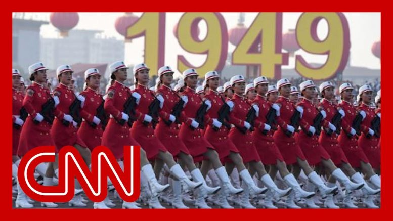 China shows off military in anniversary parade 1