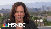 Kamala Harris: President Donald Trump's 'Trying To Intimidate' Whistleblower | Hardball | MSNBC 4