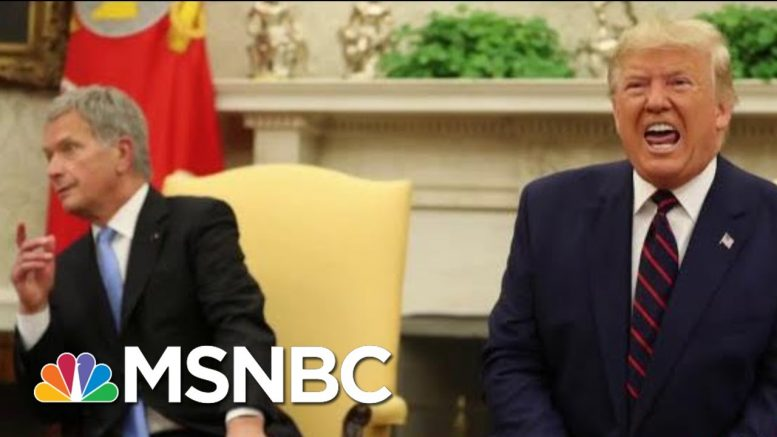 Trump And The President Of Finland Have A Bit Of A Complicated Relationship | All In | MSNBC 1