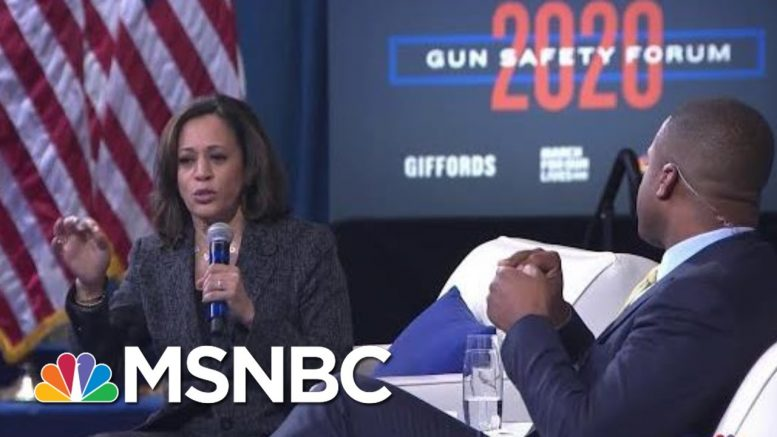 Sen. Kamala Harris: Creating Safe Communities Is More Than About Criminal Justice | MSNBC 1