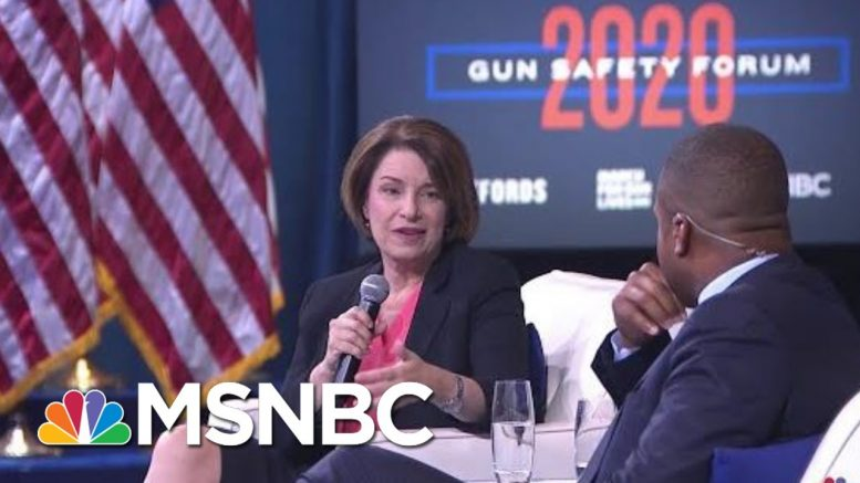 Amy Klobuchar: Kids Don't Have To Accept Gun Violence As Their Reality | MSNBC 1