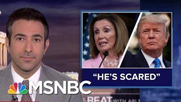 Nancy Pelosi Knocks 'Scared' Trump As Ukraine Scandal Fuels Impeachment Push 6