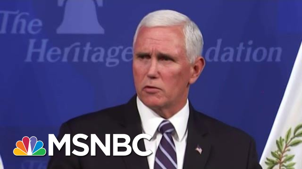 President Donald Trump's 'In Trouble': Bush Staffer On Pence Tossing Trump Under Bus 1