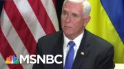 Mike Pence, At Center Of Trump Ukraine Scheme, Scrambles For Cover | Rachel Maddow | MSNBC 4