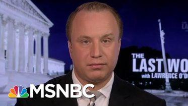 President Donald Trump V. The Whistleblower   The Last Word   MSNBC 6