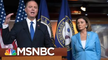 Trump Falsely Claims That Adam Schiff Helped Write Whistleblower Complaint | The 11th Hour | MSNBC 8