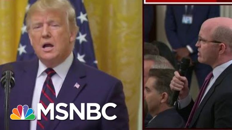 'Drowning In His Lies,' Trump Lashes Out On Wednesday | Morning Joe | MSNBC 1