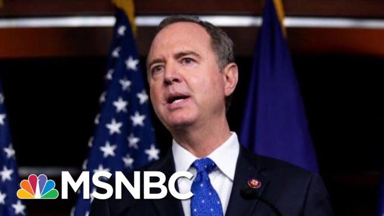 President Donald Trump, GOP Accuse Schiff Of Orchestrating Complaint | Morning Joe | MSNBC 1