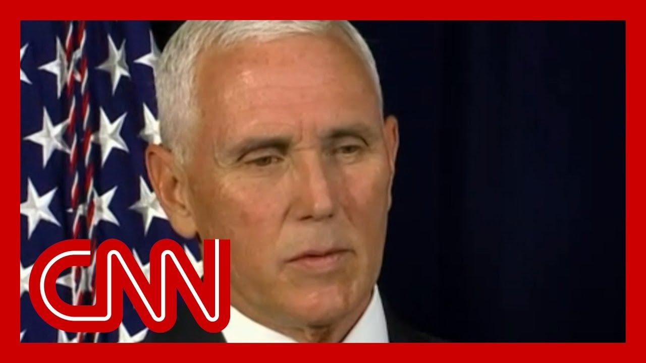 Mike Pence defends Trump's Ukraine call 1