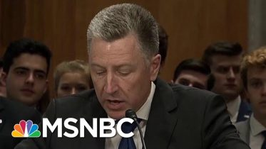 How Important To The Impeachment Inquiry Is Kurt Volker? | Velshi & Ruhle | MSNBC 2
