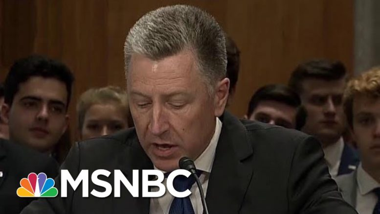 How Important To The Impeachment Inquiry Is Kurt Volker? | Velshi & Ruhle | MSNBC 1
