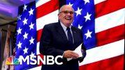 Rudy Giuliani's Disinformation Dossier | Deadline | MSNBC 2