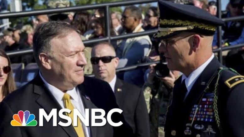 Rep. Connolly: 'We Have To Call This What It Is—Extortion'   All In   MSNBC 1